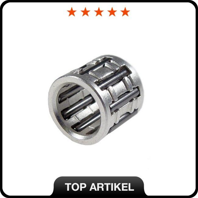 Kolbenbolzenlager Stage6 HighQuality, Silber, 10mm (10x14x13mm) für Minarelli / Morini AC