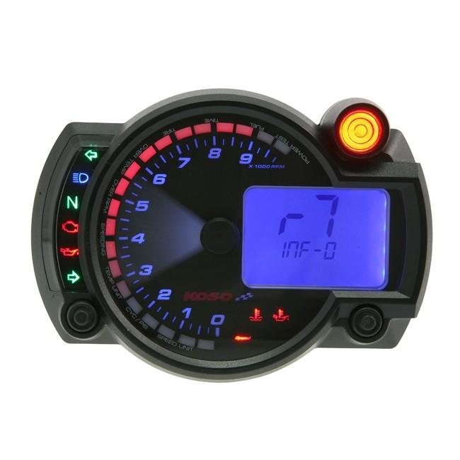 tacho koso digital cockpit rx2n plus 0 10000 tachometer. Black Bedroom Furniture Sets. Home Design Ideas