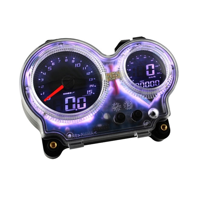 tacho tachometer koso digital evo yamaha aerox mbk. Black Bedroom Furniture Sets. Home Design Ideas