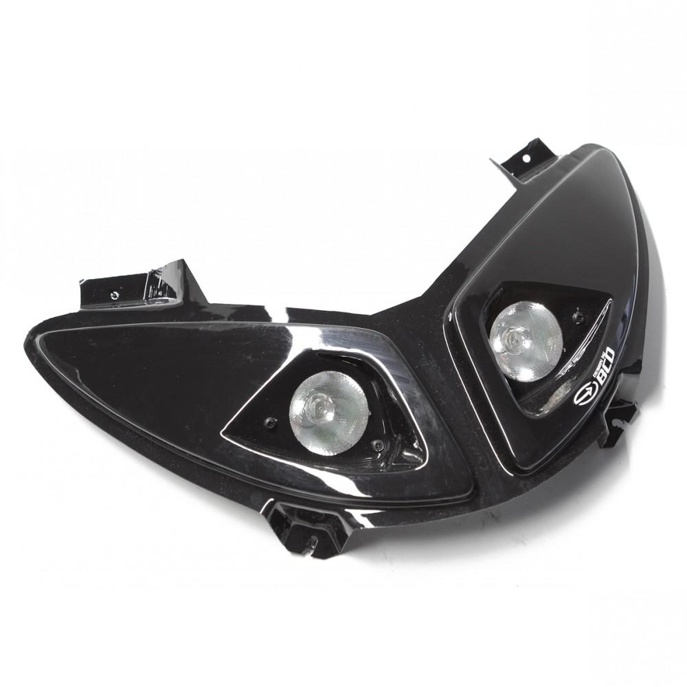 scheinwerfer bcd halogen 2 schwarz f r peugeot speedfight. Black Bedroom Furniture Sets. Home Design Ideas