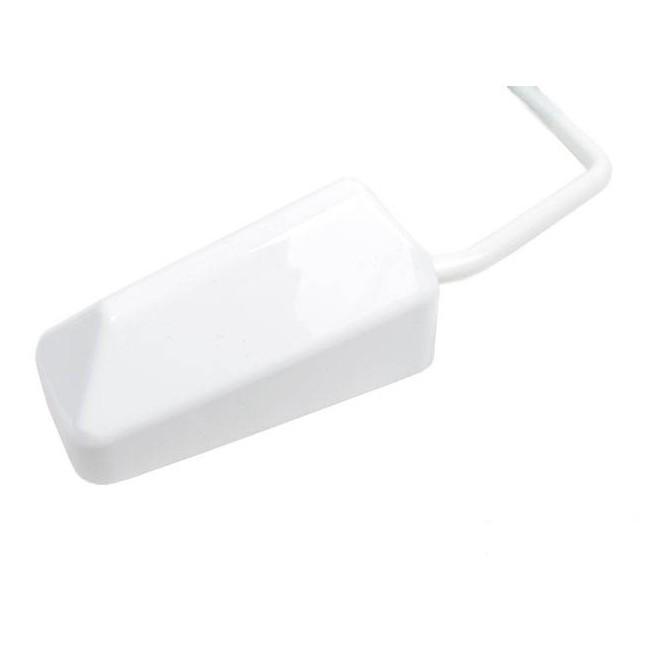 Spiegel str8 f1 style universal weiss m8 gewinde inkl adapter