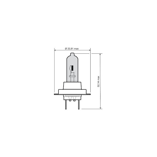 lampe scheinwerfer birne 12v 55w h7 rms e1 zeichen. Black Bedroom Furniture Sets. Home Design Ideas